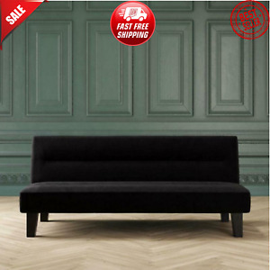 Modern Futon Sofa Bed Adjustable Couch Convertible Sleeper Living Room