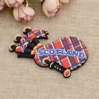 Exotic Scotland Bagpipe Sharped Fridge Magnet Magnet Sticker Home Decor Gift DIY