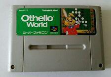 Othello World (Super Famicom, SNES Japan) Untested