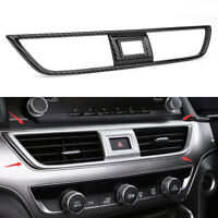 Carbon Fiber Center Dashboard Air Vent Outlet Cover Trim For Honda Accord 2018