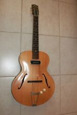 1935 Pre-War Gibson L-50 Archtop Guitar with P90 pickup & Christian cover.