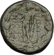 Sardes in Asia Minor 133BC Ancient Greek Coin Nude Apollo Young Hercules  i51695