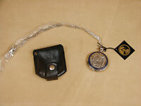 "Franklin Mint Pocket Watch #B11YQ13 ""The Timber Wolf"" New In Box w/COA"