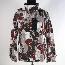 Zara Parka Rain Coat Size M Water Repellant Floral Hood Jacket NWT
