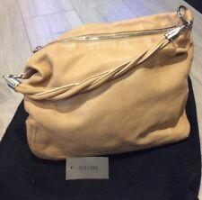 Studio Pollini Beige Saddle Type Slouchy Bag With Dustbag