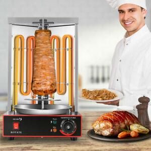 Kebab Gyro Grill Machine Electric Vertical Broiler Shawarma Machine Spinning US