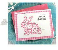 Easter cutting die for card making scrapbooking and paper crafts 8cm × 7.5cm