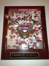 Washington Nationals Inaugural Season 2005 Plaque