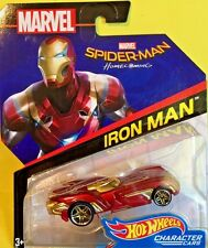 Hot Wheels 2017 Character Cars Spider-Man Homecoming IRON MAN FHN02