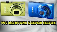 CANON ELPH 310 HS or ELPH 320 HS CAMERA REPAIR SERVICE WITH A 60 DAY WARRANTY