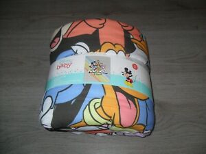 Disney Baby Mickey Mouse & Friends 100% Cotton Cot Quilt (4 Tog) - NEW