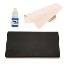 Gold Testing Kit Large Acid Gold Testing Stone w/ Neutralizer & Polishing Cloth