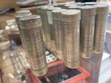 Roosevelt Dimes 18 rolls of (50)=900 coins 5 merc dimes pre 64 90% silver