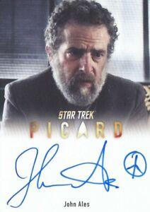 STAR TREK PICARD SEASON 1 - A31 JOHN ALES (BRUCE MADDOX) AUTOGRAPH CARD LIMITED