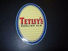 TETLEYS ENGLISH ALE Oval Carlsberg STICKER decal craft beer brewing brewery