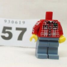 Genuine LEGO Collectable Series 5 lumberjack wood chopper body only mini figure