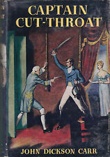 John Dickson Carr - Captain Cut-Throat - 1st/1st 1955 in DW - Napoleon, Pirates