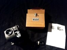 Vintage Fodor Model A-100 35mm Slide Projector Box, Power cord, and Instructions