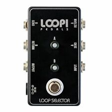 2 Loop Switcher Pedal - True Bypass - Loopi Pedals
