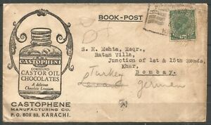 India, Commercial Cover to Bombay