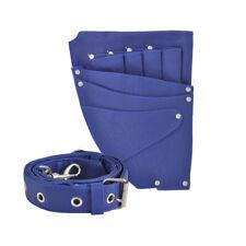 Hairdressing Pouch, Slice Scissor Holster Belt, Hair Kit Accessories, Blue