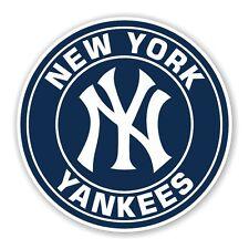 New York Yankees  Round  Decal / Sticker Die cut