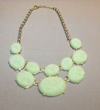stone Necklace Beautiful Green