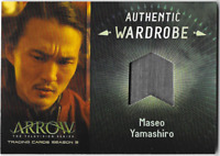 Arrow 3 Relic Wardrobe Costume Card Maseo Yamashiro M17 M-17