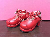 1/4 BJD Red Lolita shoes A fits MSD Mini Super Dollfie MDD Obitsu 50cm SALE