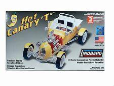 "Lindberg 1/8 Kit #73045: HOT CANARY ""T"" (Ford Model T Custom) HOT ROD"