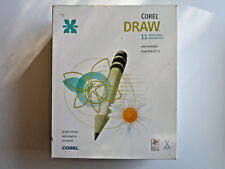 Corel Draw 11 Graphic Suite - Windows or Mac - Commercial Design Software