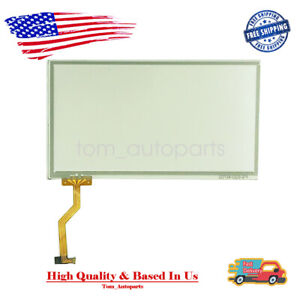 Touch Screen Glass Digitizer 6.5'' Fit For Jeep Uconnect Mygig REN RER RHR 07-10