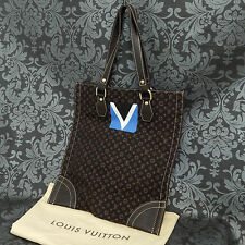 Rise-on LOUIS VUITTON MONOGRAM MINI LIN 2005 LV Cup Limited Model Tote Bag #2