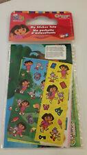 Dora the Explorer My Sticker Tote Over 100 stickers & album 2003 Sandylion NOS