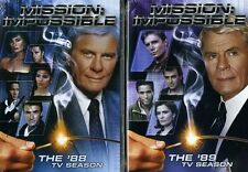 Mission: Impossible - The '88 and '89 TV Seasons [9 Discs] (2012, DVD New)