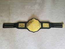 WCW / WWE World Wrestling Championship Replica Belt Adult Size Big Gold