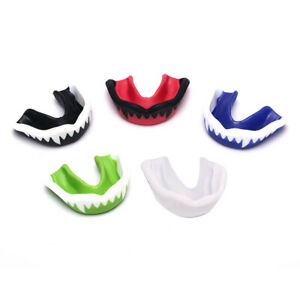 Boxing Mouth Guard Adult Soft EVA Mouth Protective Teeth Guard Sport With Bo^dm