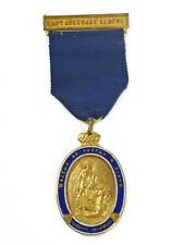 More details for cardiff infirmary hospital early 1900's lady aberdare league gilt & enamel medal