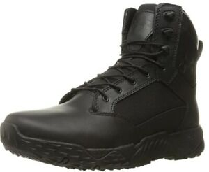 "Under Armour 1289001 Men's UA Stellar 8"" 2E Wide Tactical Duty Leather Boots"