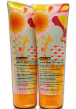 2x AMIKA Haute Mess Texture Gel 4 oz, Firm Hold, Vitamins C, Omega 7 (2 Packs)