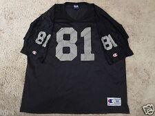 Tim Brown #81 Oakland LA Raiders NFL Champion Jersey 48 XL