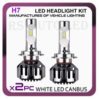BMW F10 F11 09-16 HEADLIGHT BULBS 50W H7 LED WHITE 6500K LOW BEAM - CANBUS