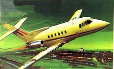MATCHBOX Kit.No.PK-110, Hawker Siddeley 125/600, 1/72, MIB & 100% Complete, 1974