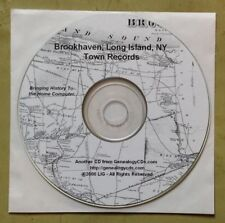 Town Records of Brookhaven, Long Island, New York, 17th-19th c. PDF on CD-ROM