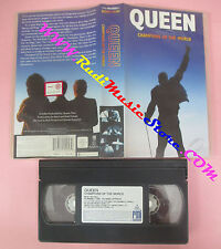 VHS QUEEN Champions of the world Made in heaven MERCURY 1995 no cd lp dvd(VM10)