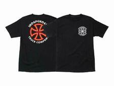 Independent Bar/Cross T-Shirt, Skate Shirt, Independent, Black (Small) *New*