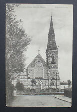 Vintage 1900's Postcard. Belper Church. Posted Northants 1907 Cancel.