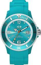 Blaue analoge Armbanduhren mit Silikon -/Gummi-Armband