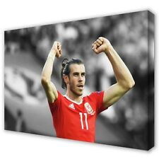 Gareth Bale Wales Real Madrid | Canvas Print Wall Art Photo Picture | 5 Sizes