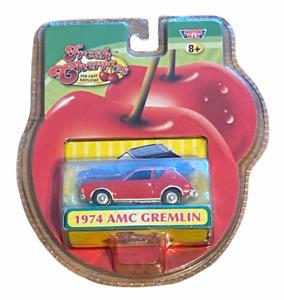 Fresh Cherries Motor Max Red 1974 AMC Gremlin X Die-Cast Replica - 73600L